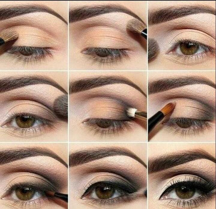 طريقة عمل مكياج عيون ناعم و جذاب